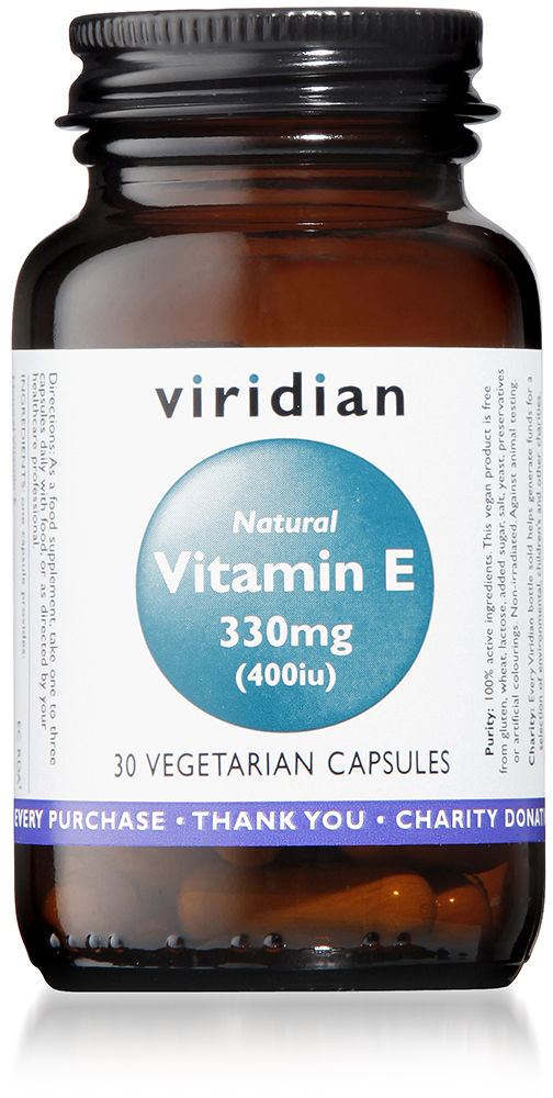 Natural Vitamin E 400iu Veg
