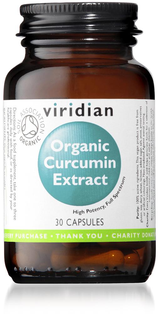 Organic Curcumin Extract Veg