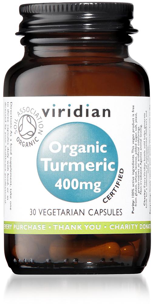 Organic Turmeric 400mg Veg