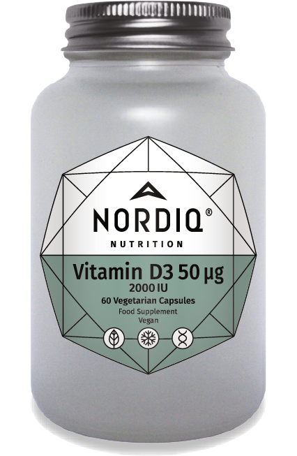 Vitamin D3 50μg 2000 IU