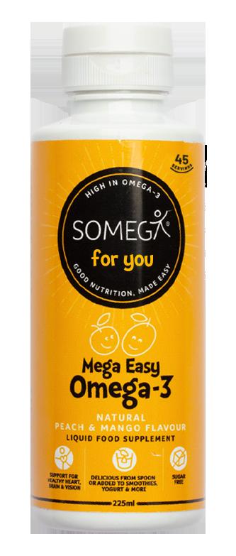 Omega-3 Peach Mango - liquid