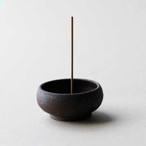 Wabi Sabi Mud Clay Incense Bowl